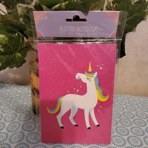 unknown Other - Unicorn Staniory set Glitter Notebook/6 color pen.